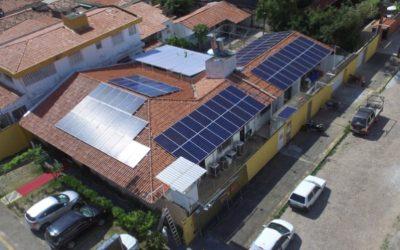 Restaurante Santa Maria se torna em um Gerador de Energia Fotovolatica ENERBRAS.
