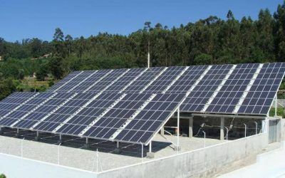 Central Fotovoltaica da ENERBRAS no PORTO – Portugal – 90 kW
